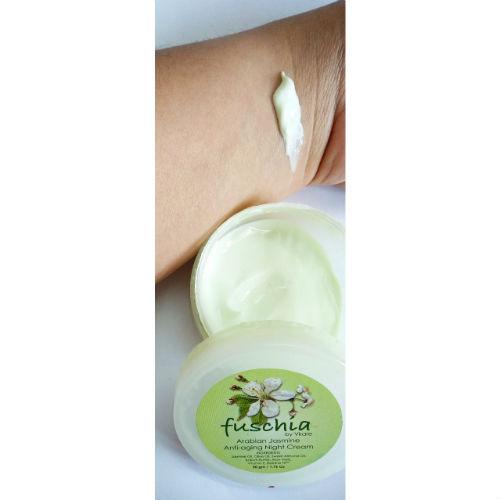 Fuschia Arabian Jasmine Anti-ageing Night Cream