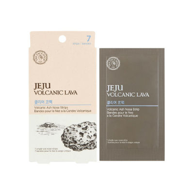 The Face Shop Jeju Volcanic Lava Aloe Nose Strip
