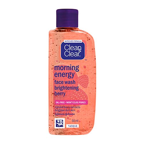 Clean & Clear Morning Energy Face Wash – Brightening Berry
